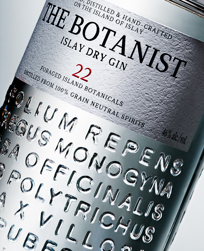 Beverage shot of the botanist islay dry gin photo by brian kaldorf by Brian Kaldorf