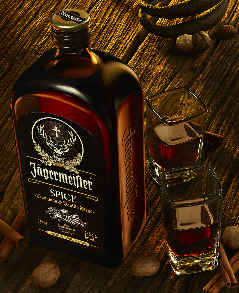beverage image of jagermeister spice photo by brian kaldorf by Brian Kaldorf
