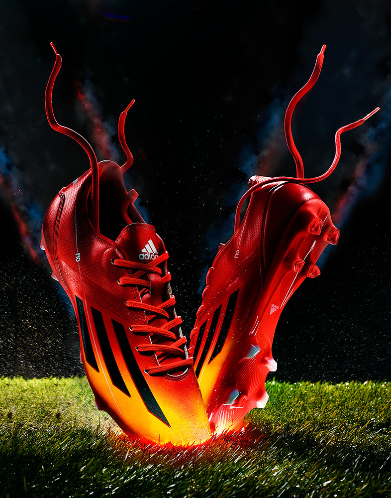 product photo of adidas soccer cleats photo by brian kaldorf by Brian Kaldorf