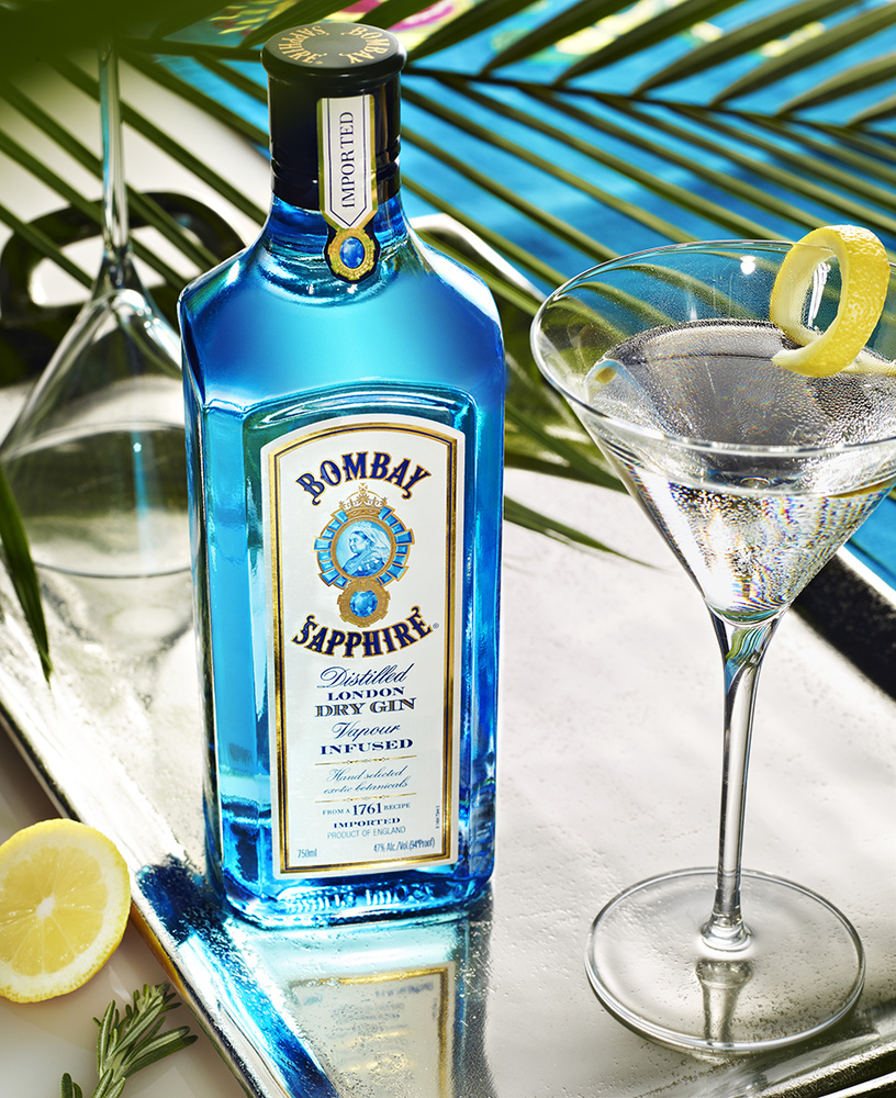 beverage photo of bombay blue sapphire gin photo by brian kaldorf by Brian Kaldorf