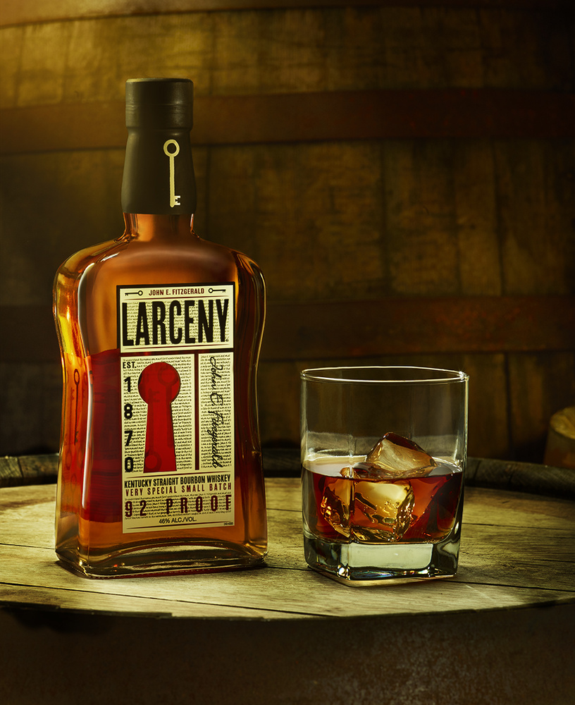 beverage shot of larceny bourbon photo by brian kaldorf by Brian Kaldorf