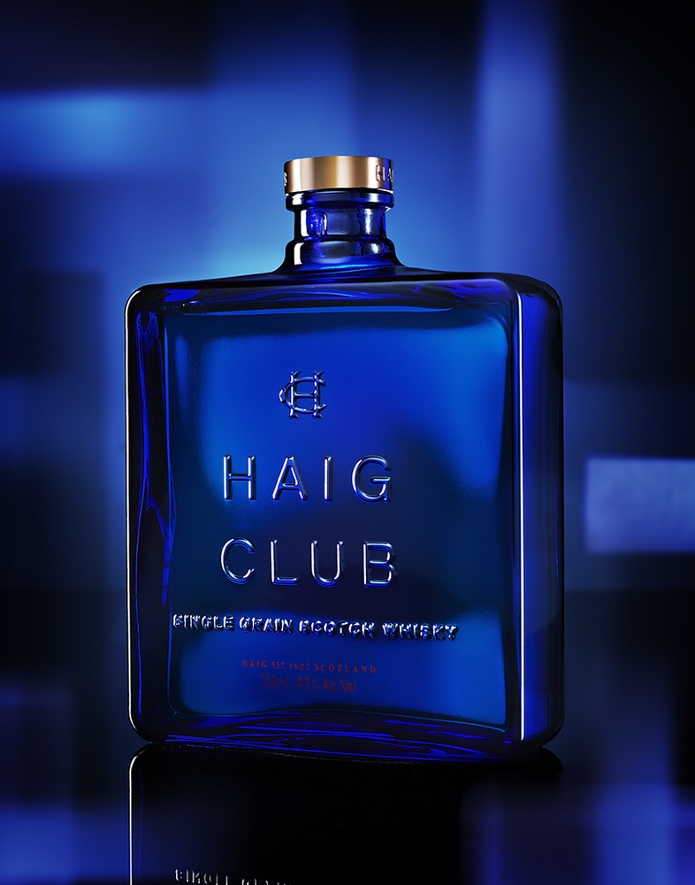 beverage shot of haig club whiskey photo by brian kaldorf by Brian Kaldorf