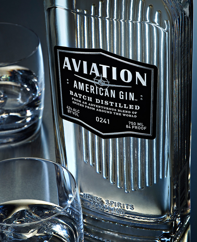 beverage shot of aviation american gin photo by brian kaldorf by Brian Kaldorf