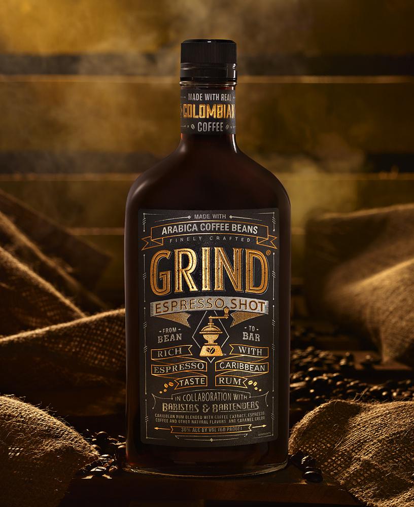 beverage shot of grind espresso drink photo by brian kaldorf by Brian Kaldorf