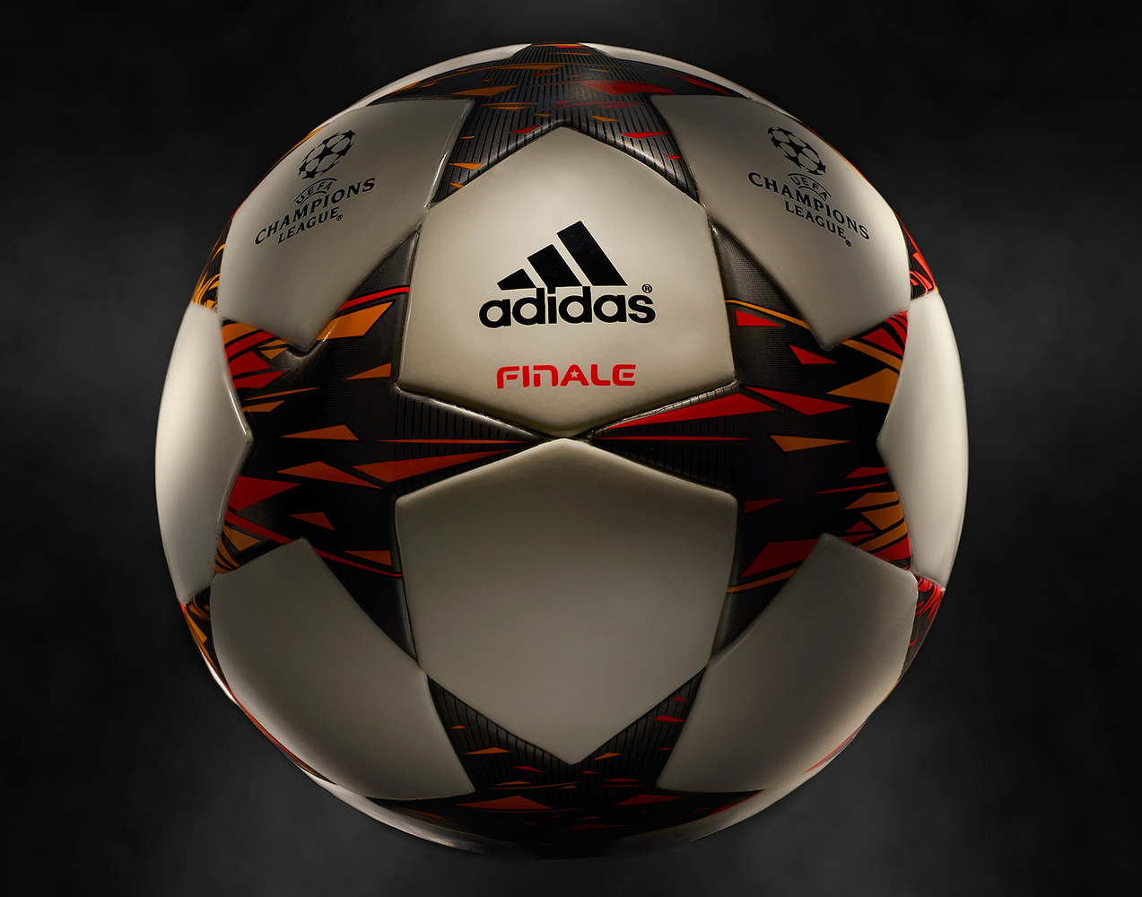 product shot of an adidas champions league soccer ball photo by brian kaldorf by Brian Kaldorf
