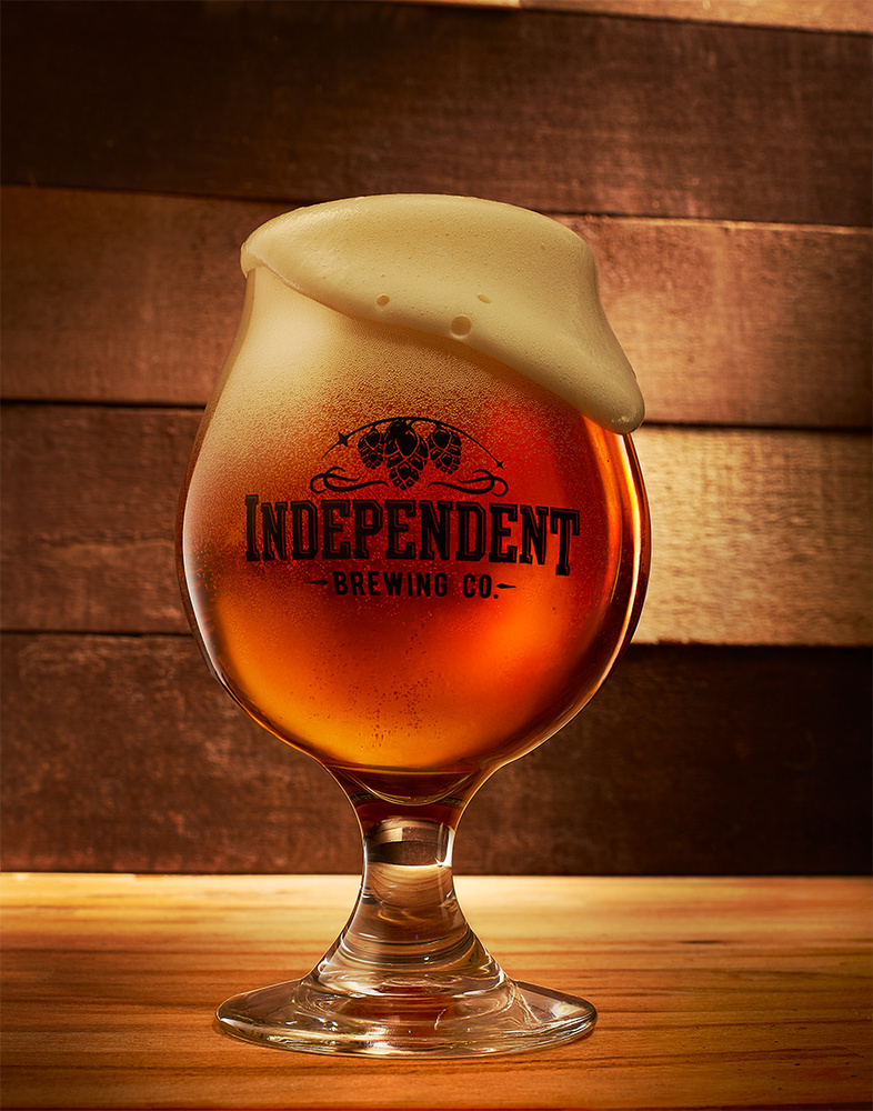 beverage shot of indpendent brewery beer photo by brian kaldorf by Brian Kaldorf