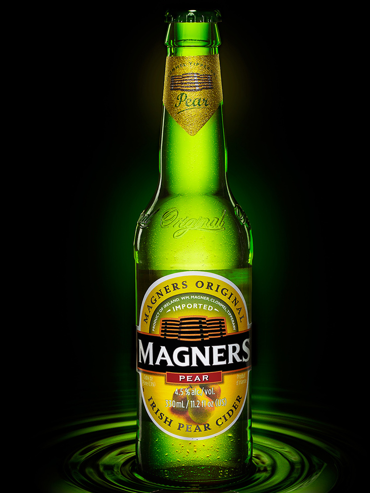 beverage shot of magners cider image by brian kaldorf by Brian Kaldorf