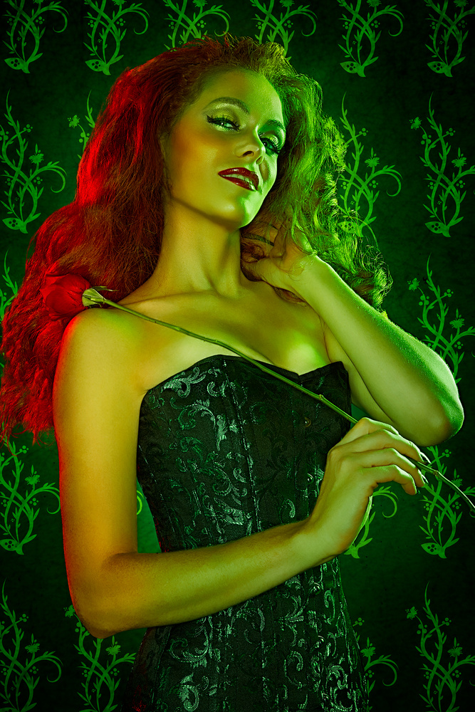 Poison Ivy Cosplay by Brian Kaldorf