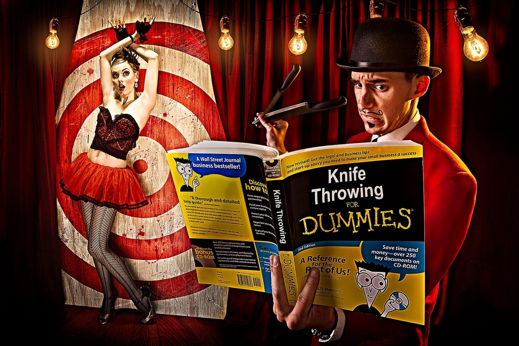 knife throwing for dummies by Brian Kaldorf