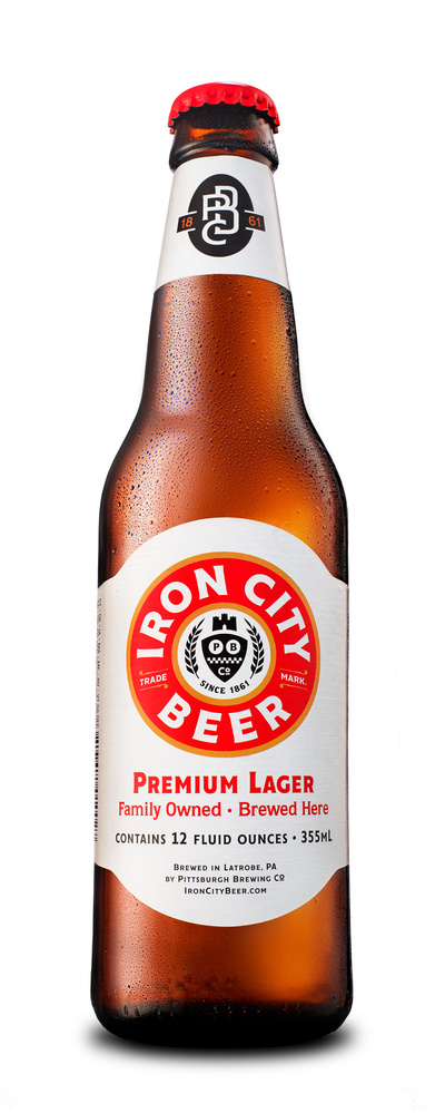 iron city bottle packshot photo by brian kaldorf by Brian Kaldorf