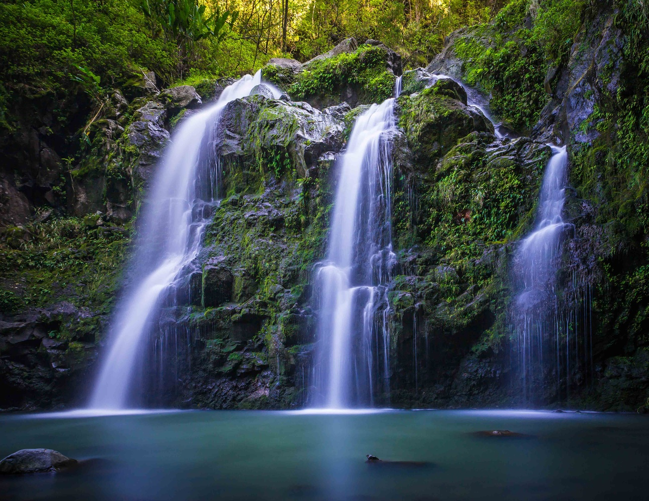 Waioka Falls by Herb Coyle