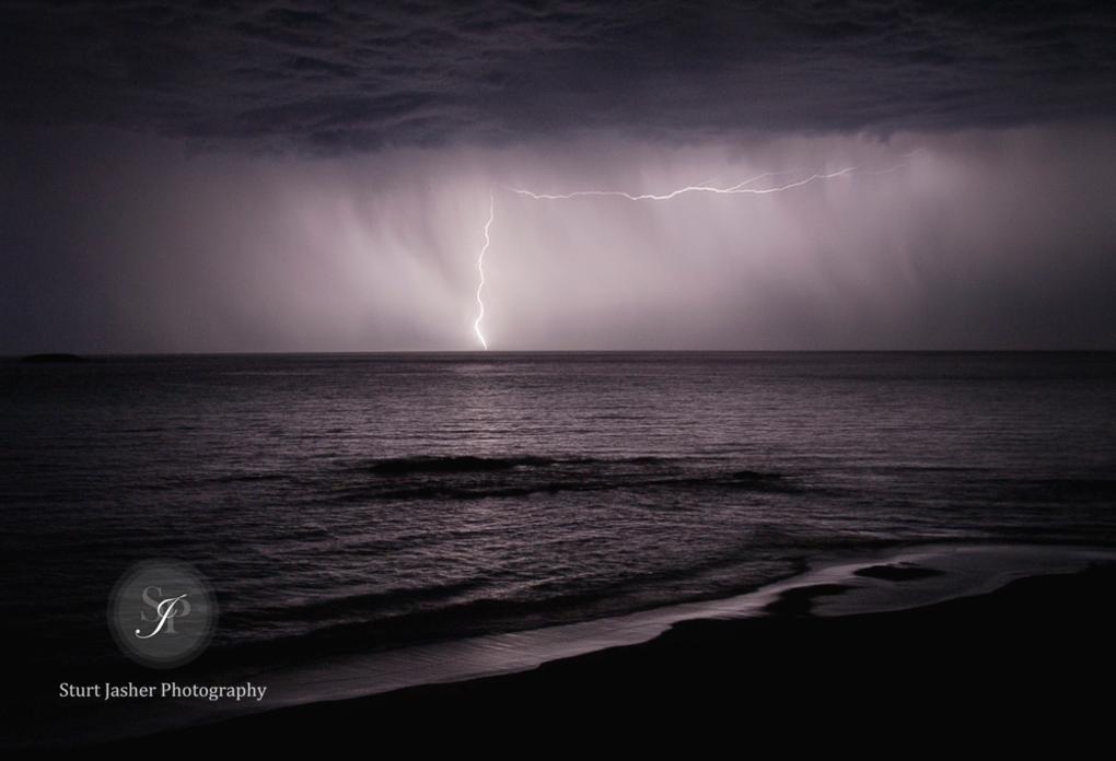 Albany Lightning Storm by Sturt Jasher