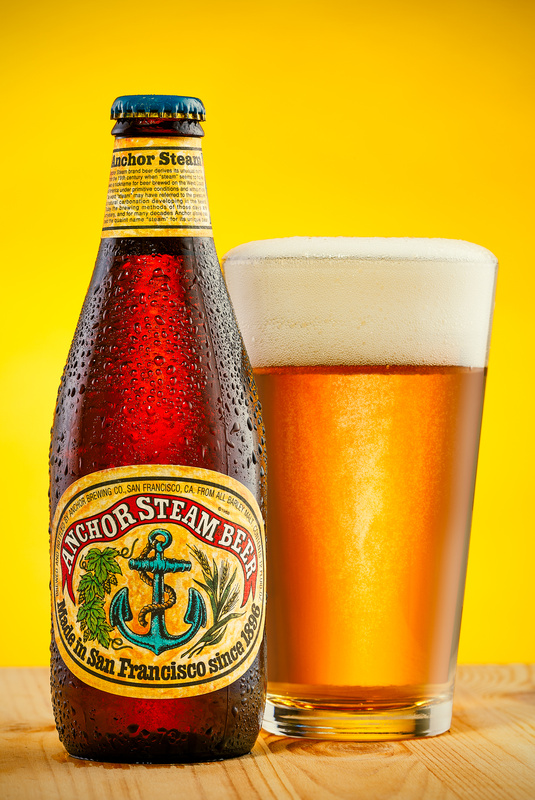 Anchor Steam Beer in Studio by Remus Roman