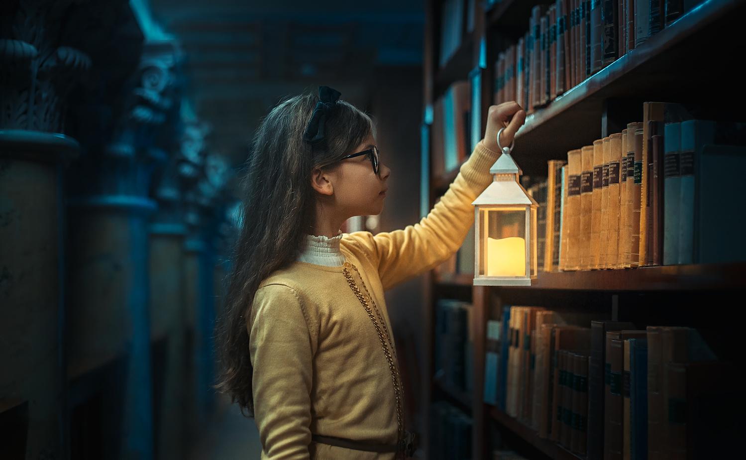 Little librarian by Heikki M