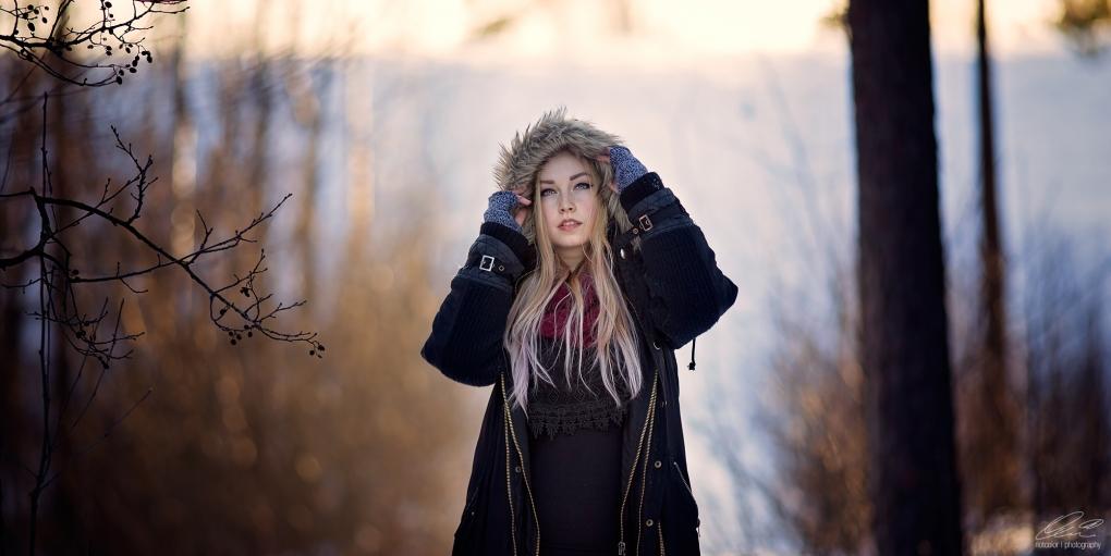 Winter light by Heikki M