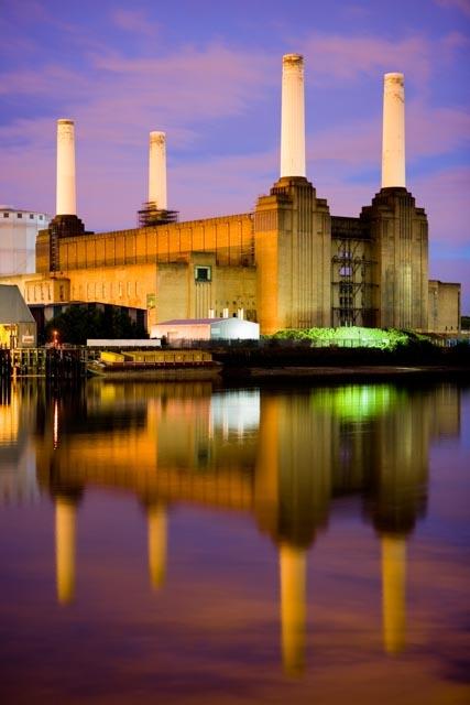 Battersea Power Station by Simon Whitehead