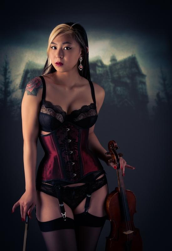 The Violinist by Daniel B