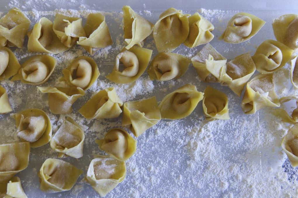 Hand-made Tortellini by Paul Papanek