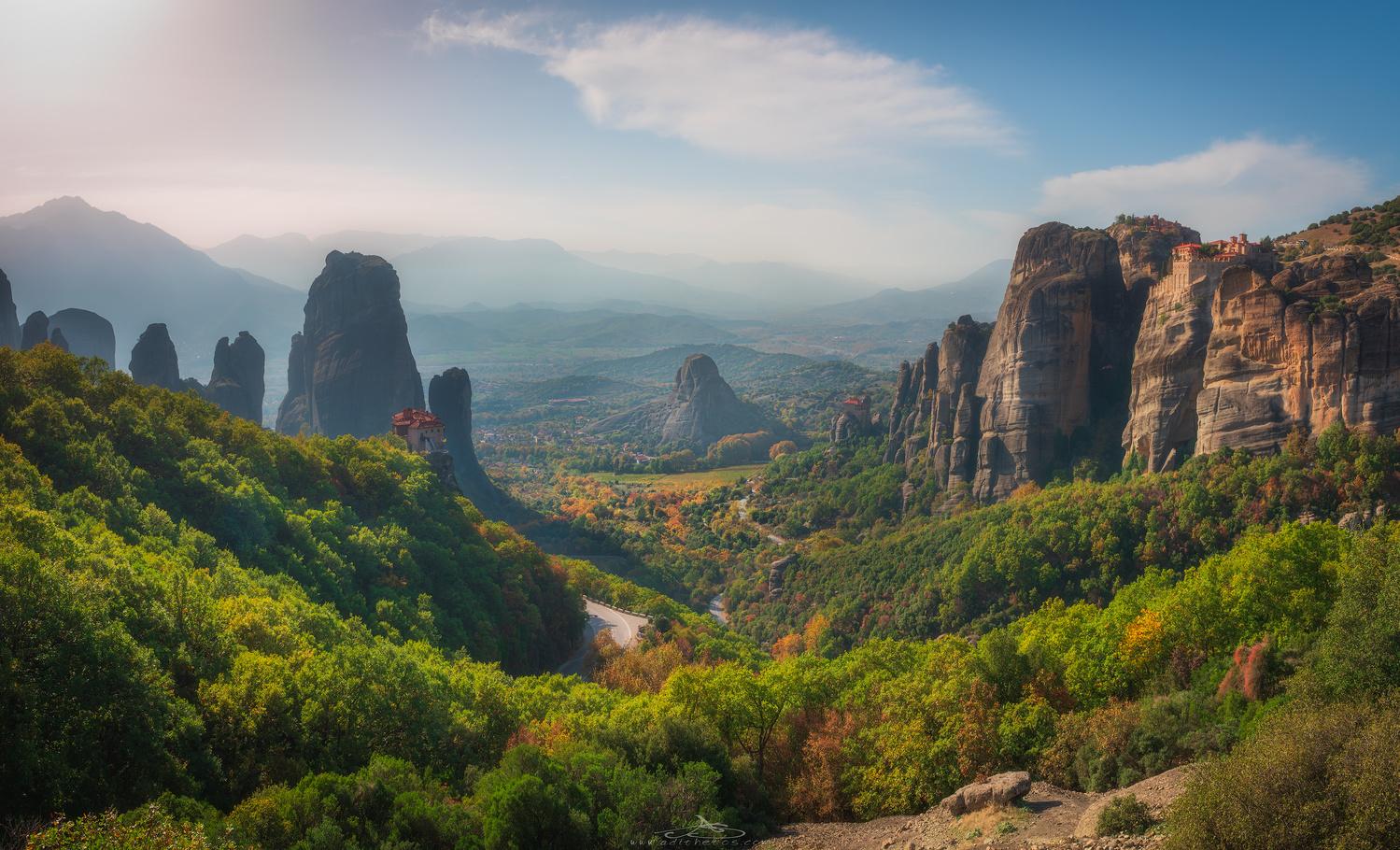 Meteora... the holy land! by Adithetos Μελουργός