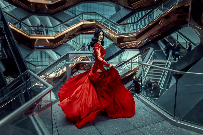 Red Invasion by Emma Grigoryan