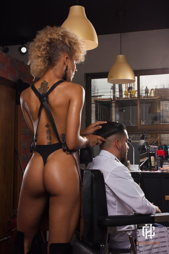 The barbershop by Chris Ramirez