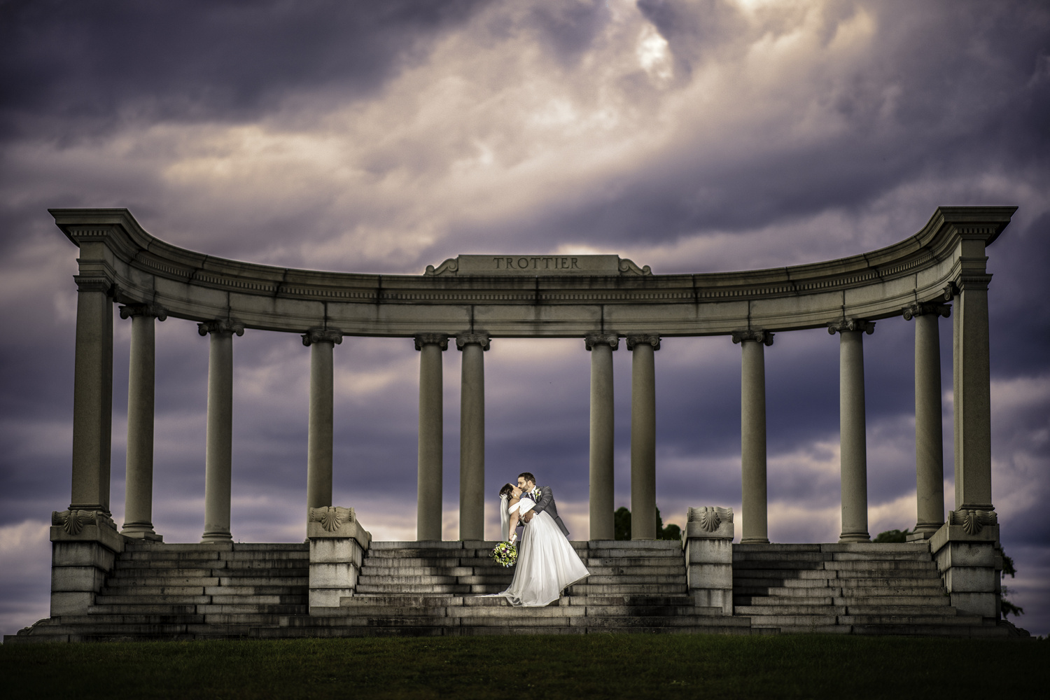 Dramatic Monument by Steven Houle