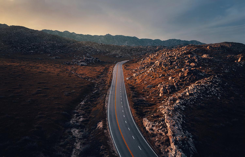 Badlands, California by Richard Pardon