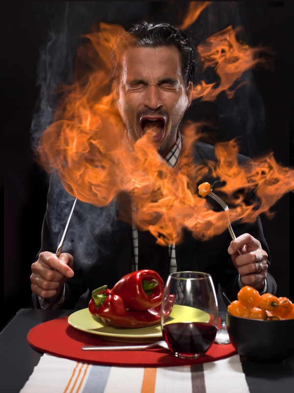 Somebody call 911! My mouth is on FIRE!!!Untitled 1 by Jeremy Witteveen