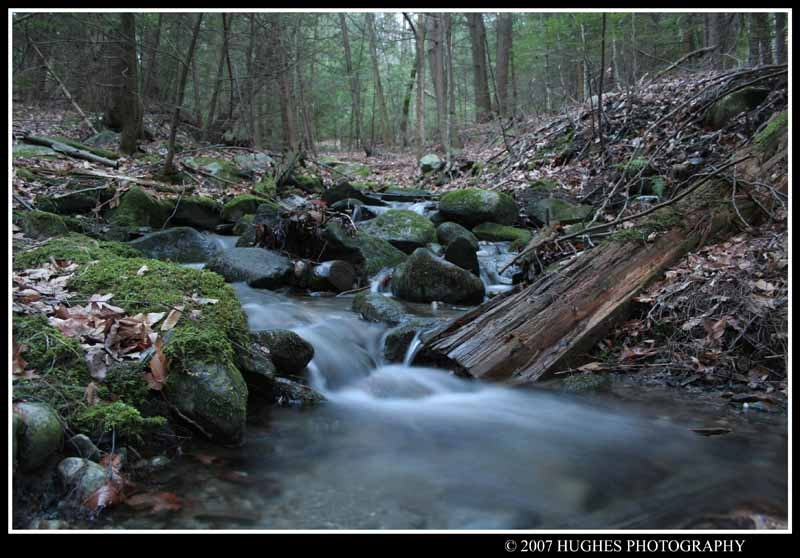 Fall Stream by John Hughes