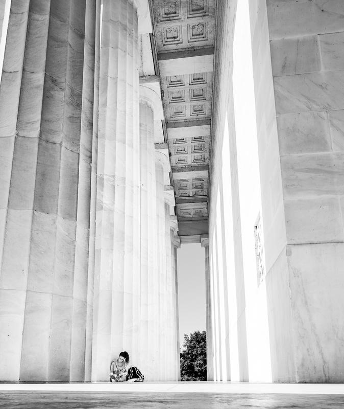 Lincoln Memorial Scholar by Trey Amick