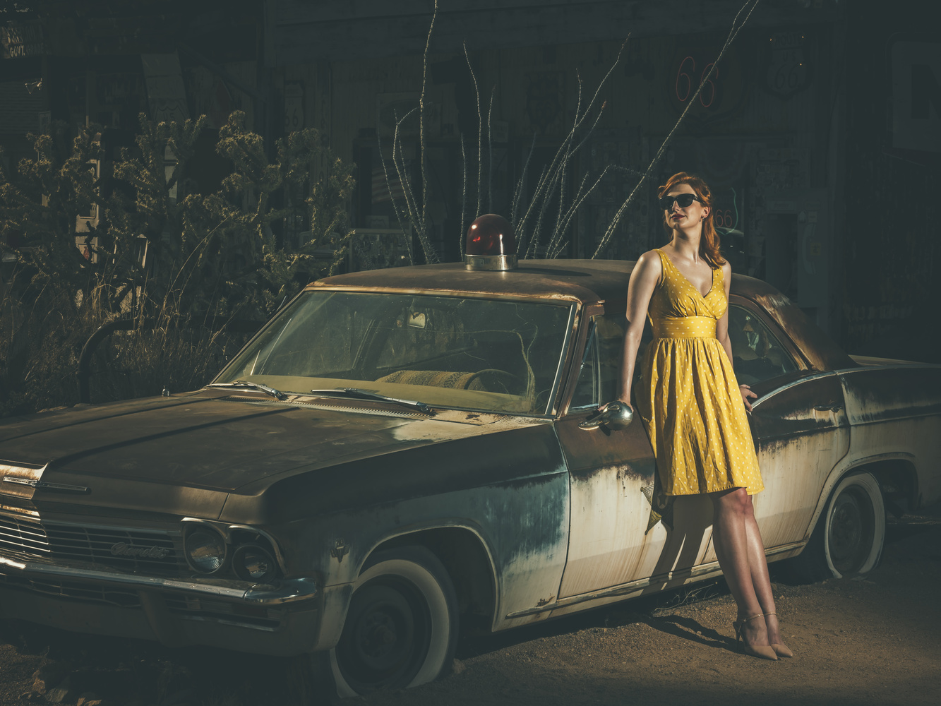 Route 66 II by Trey Amick