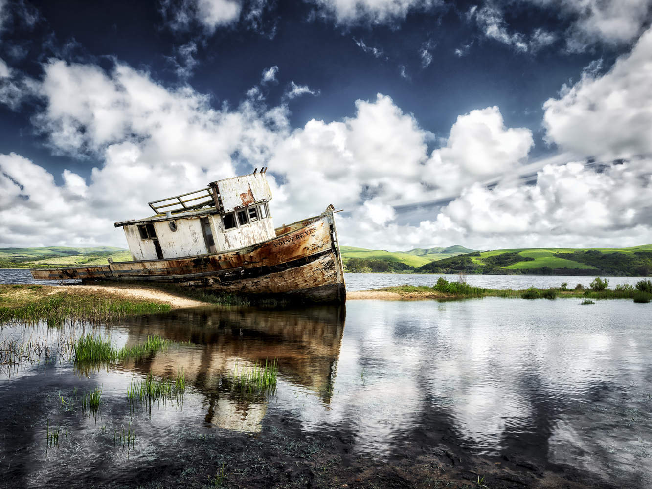 Point Reyes Shipwreck by Trey Amick