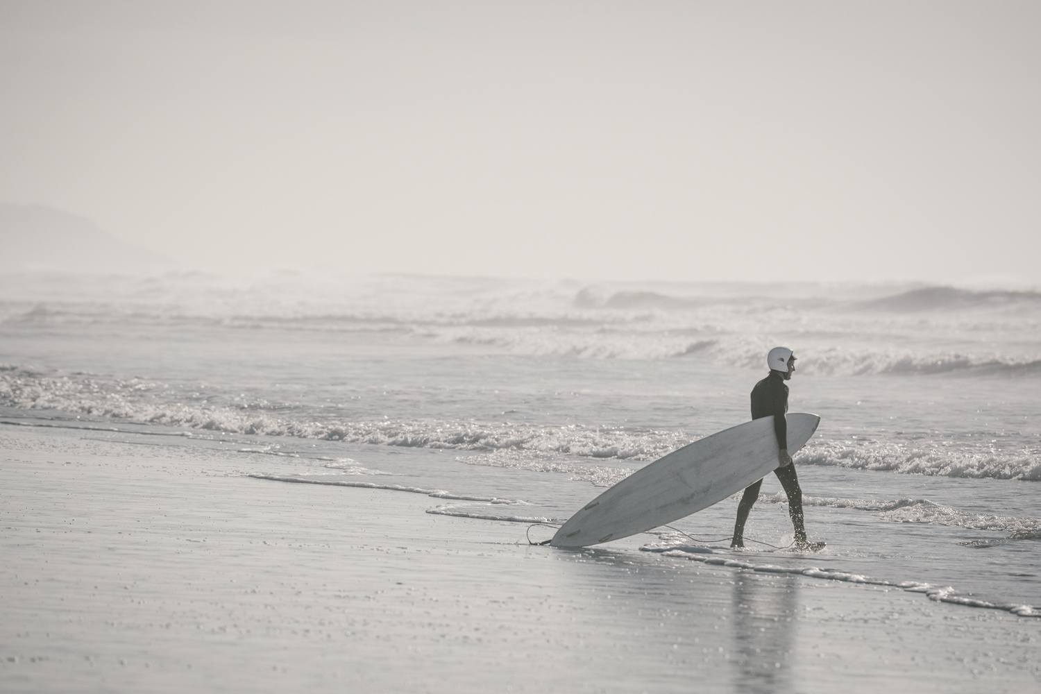 Surfer Ready for Battle by Sean Gibson
