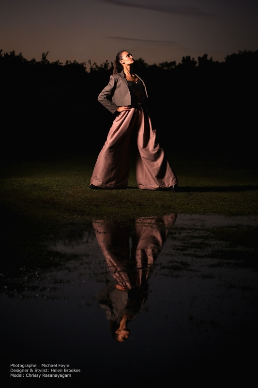 Location Fashion shoot (Helen Brookes Design) by Michael Foyle