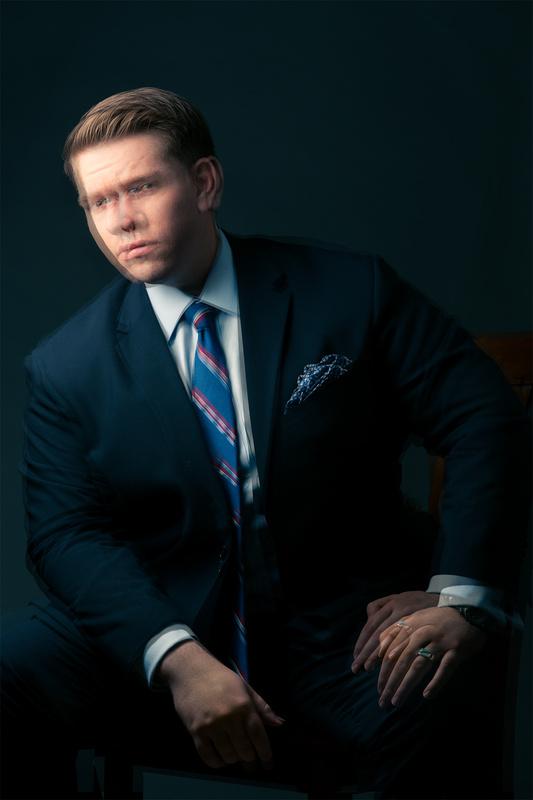 Self-Portrait by Jon Eric Johnson