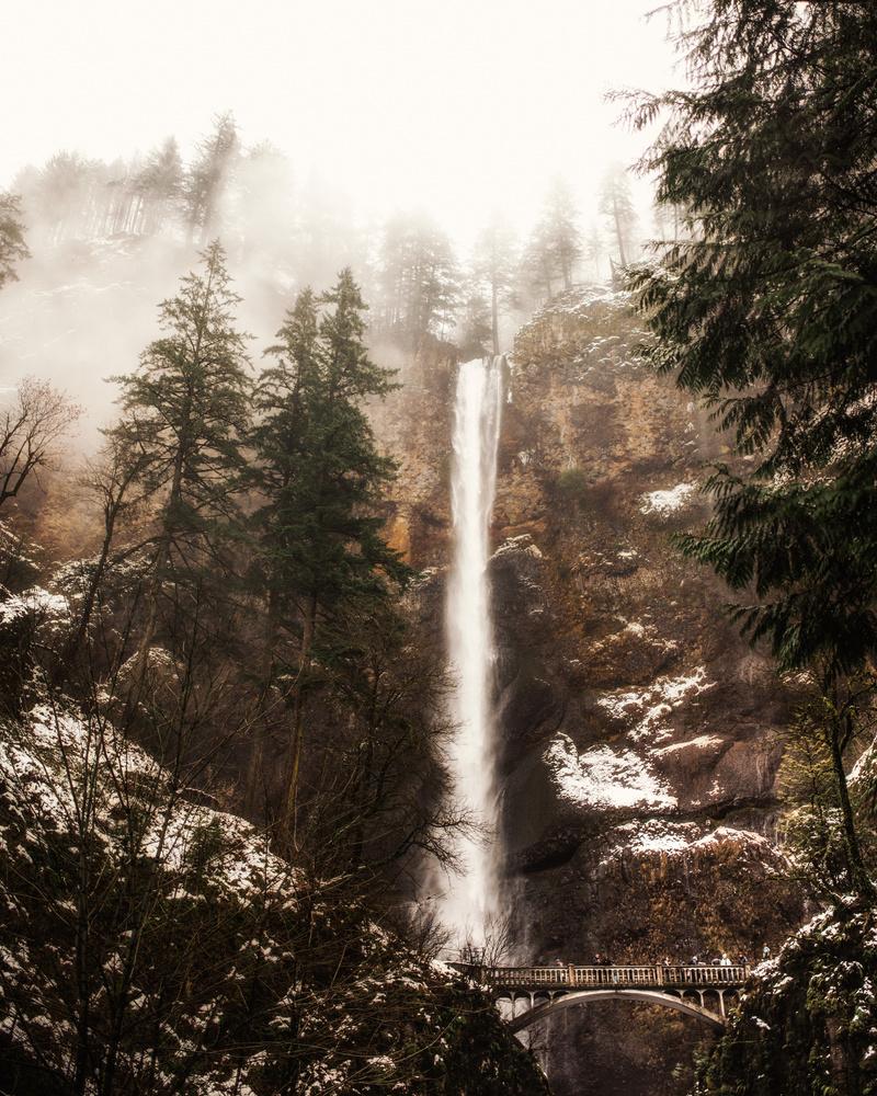 Multnomah Falls by Missy Fant