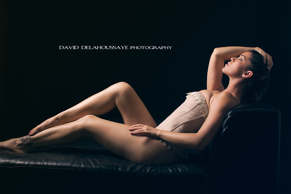 Light Bathing  by David Delahoussaye