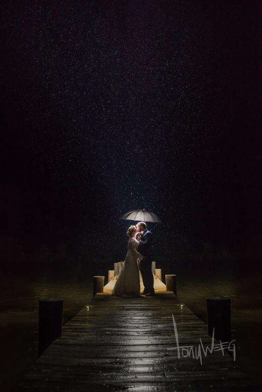 Hurricane Matthew Wedding Crasher by Tony Weeg