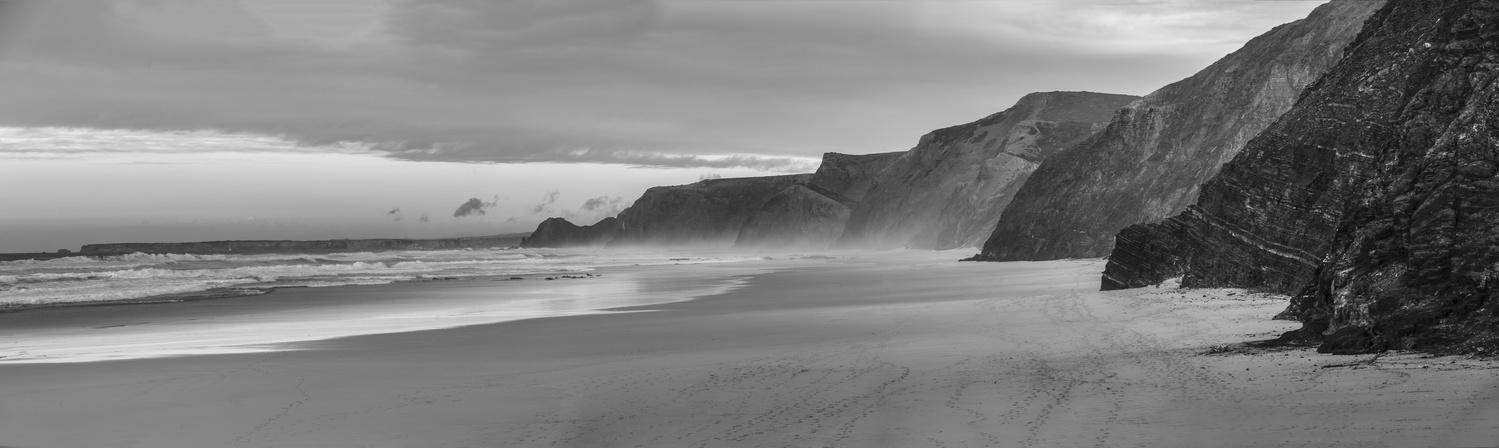 Fine Art Landscape Praia de Cordoama, Portugal by Daniel Baggenstos