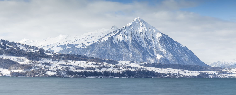 Niesen and Lake of Thun by Daniel Baggenstos