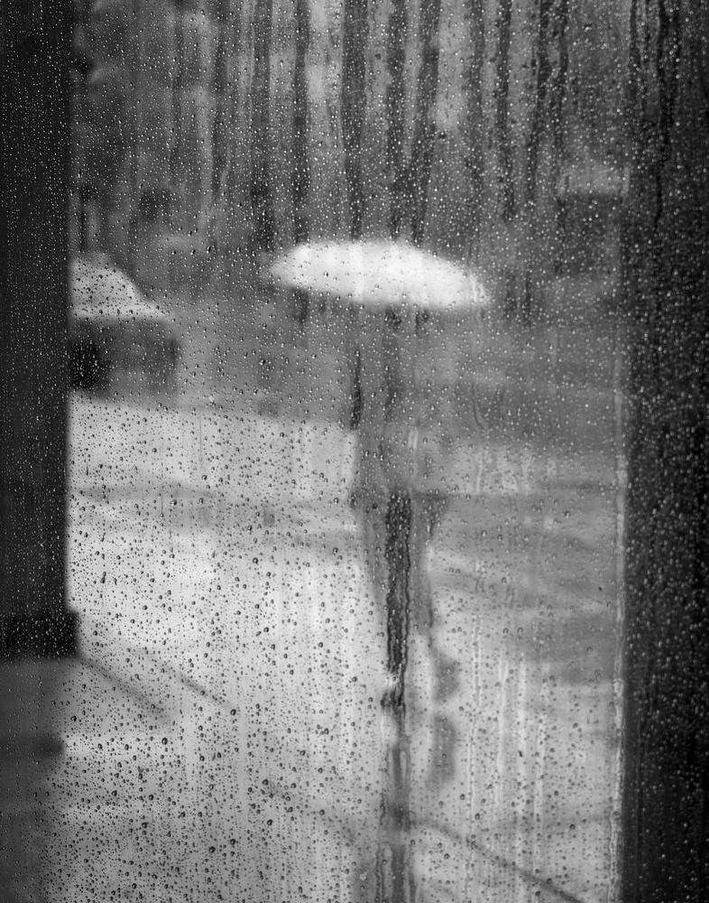 Rainy Window by Mike Burman