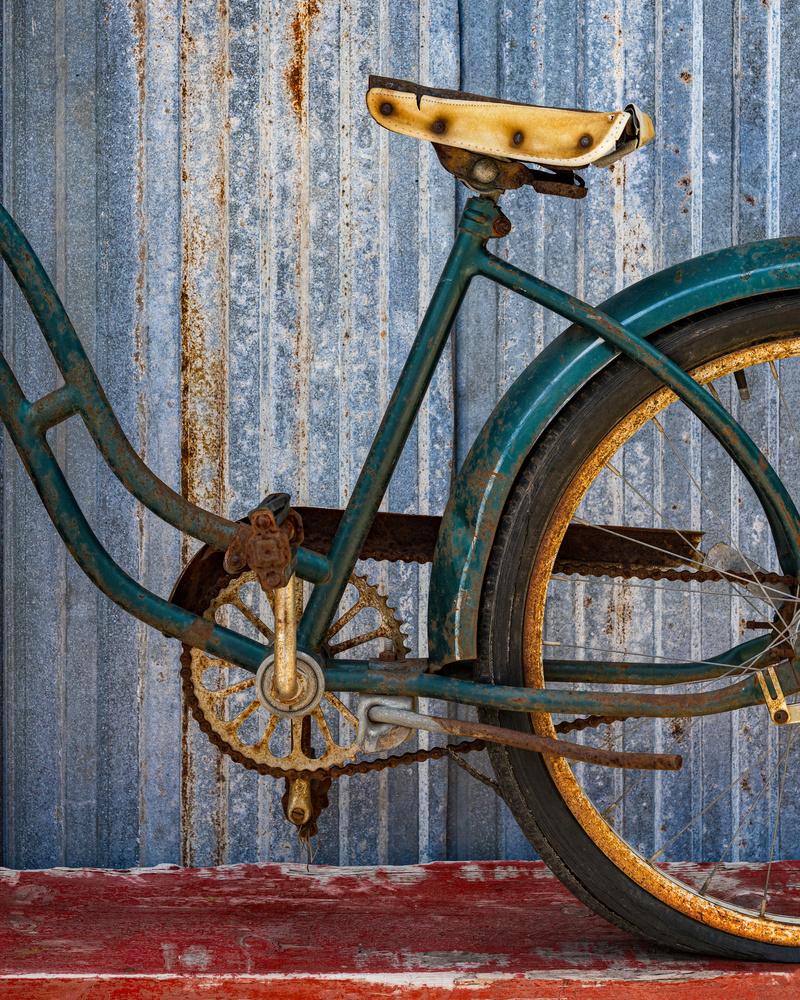 Vintage Bike by Mike Burman