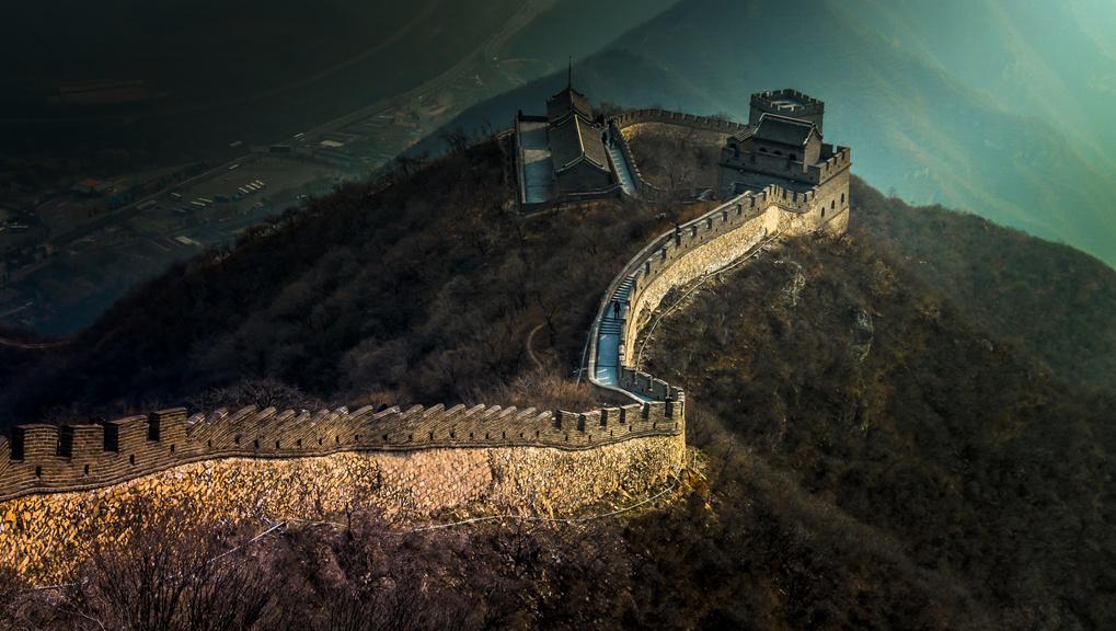 The Great Wall by Rodolfo Lozano