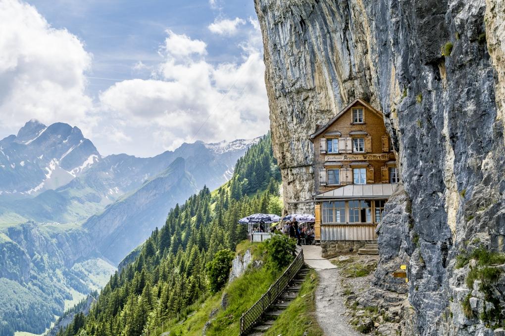 Berggasthaus Aescher by Nicolas Glauser