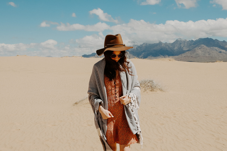 Mojave National Perserve, Kelso Dunes. by Zakk Miller