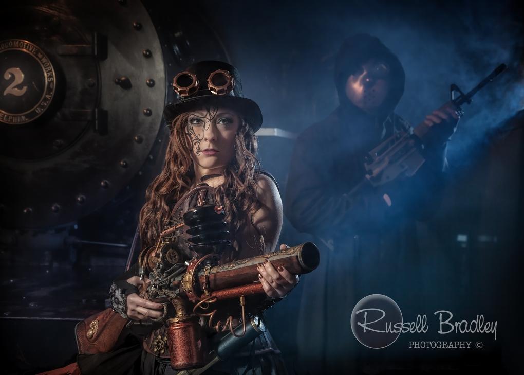 Steampunk Assassin by Russell Bradley
