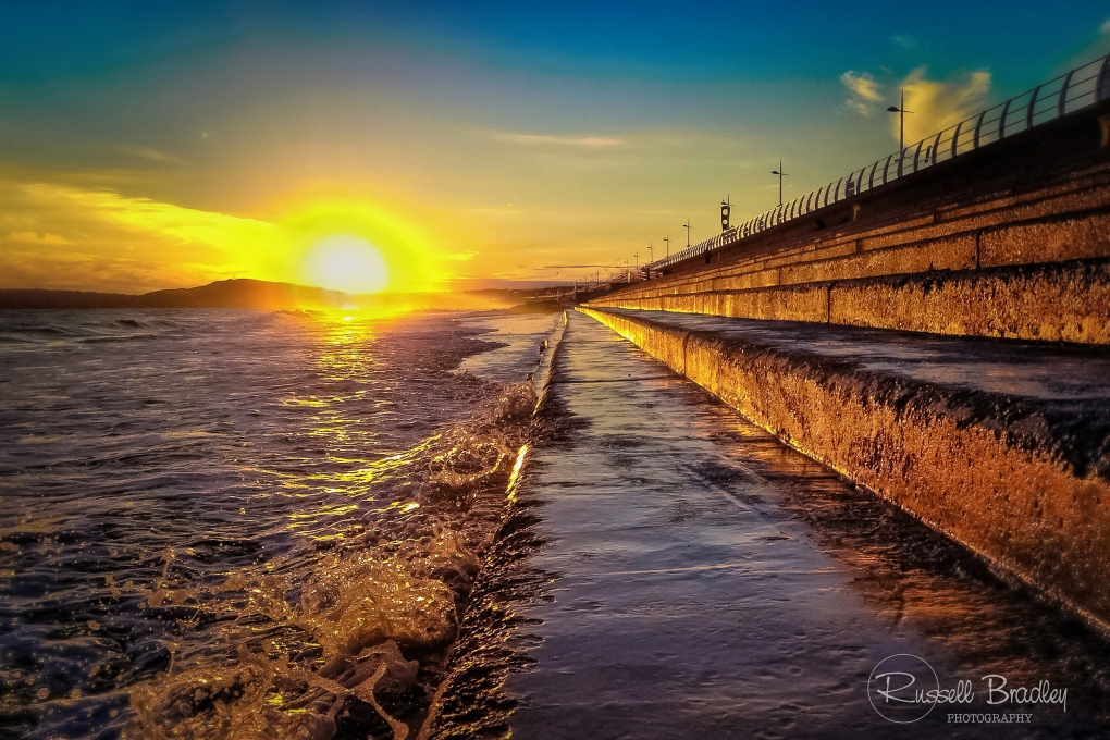 i Phone Sunset by Russell Bradley