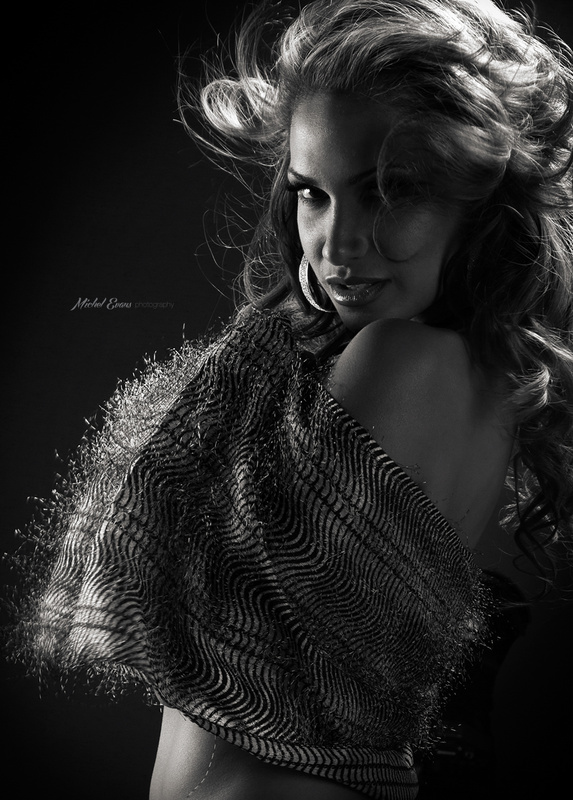 Just a fabric and light by michel evans