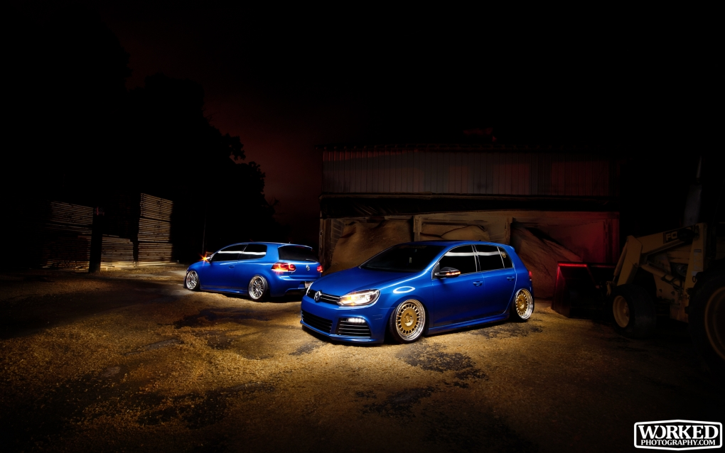 Couple R32's at the old sawmill by Jacob Tompkins
