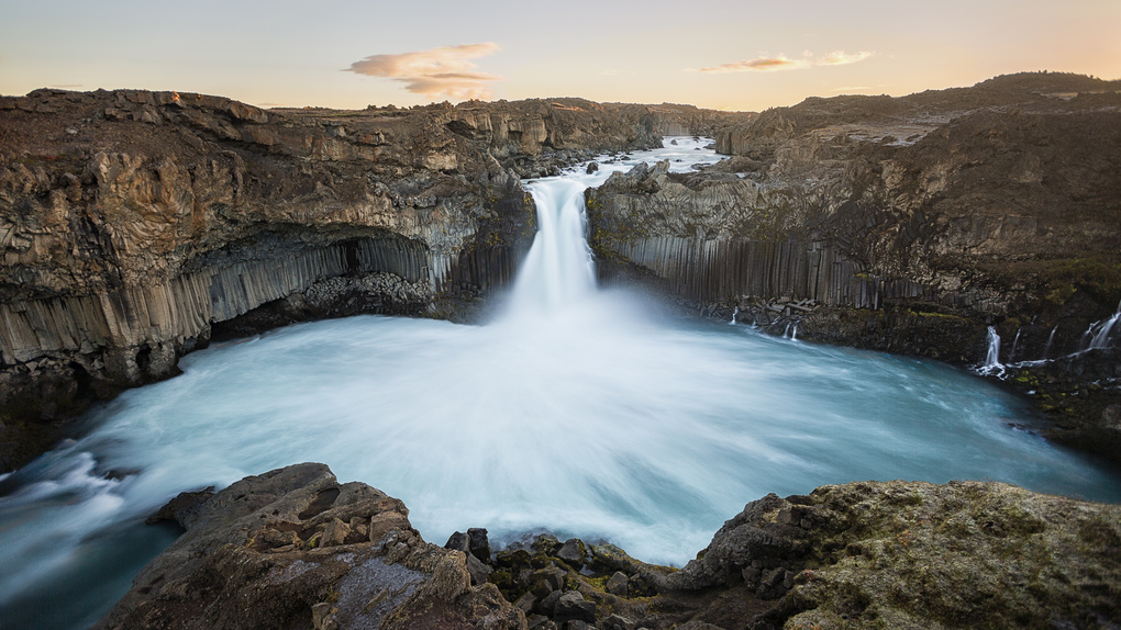 Aldeyjarfoss by Mads Peter Iversen